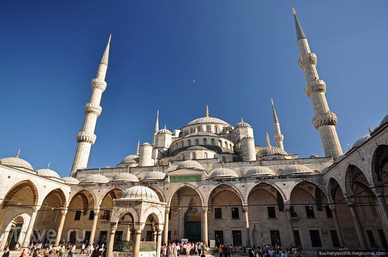 О роли красоты в истории. Собор Святой Софии и Голубая мечеть / Турция