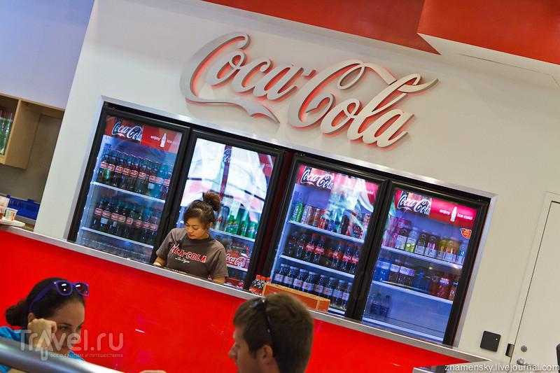 USA Wedding Trip: Магазин Coca-Cola в Лас-Вегасе / США