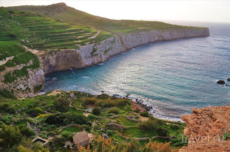 Cеверо-западное побережье Мальты: мощные скалы, крепости, дворцы, деревушки, дороги / Фото с Мальты