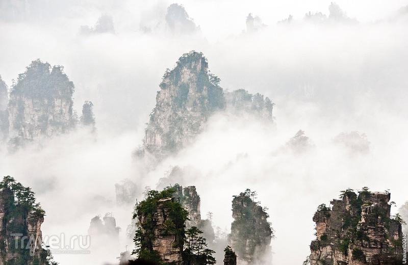 Поездка в Чжанцзяцзе, Китай / Китай