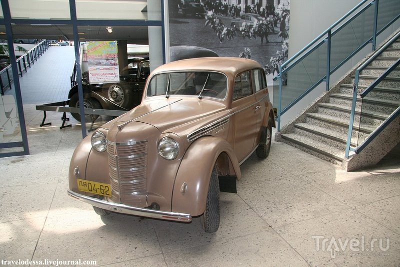 Рижский мотормузей. Мекка для любителей ретро автомобилей / Латвия