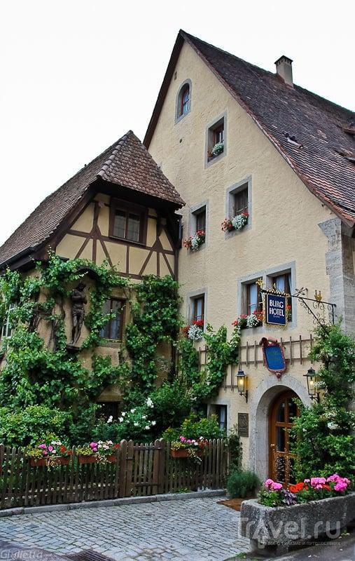Европейские каникулы. Rothenburg ob der Tauber (прогулка по городу) / Германия