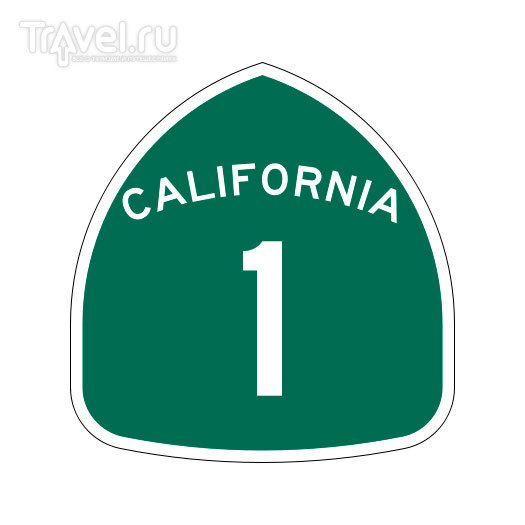 California State Route 1, CA / США