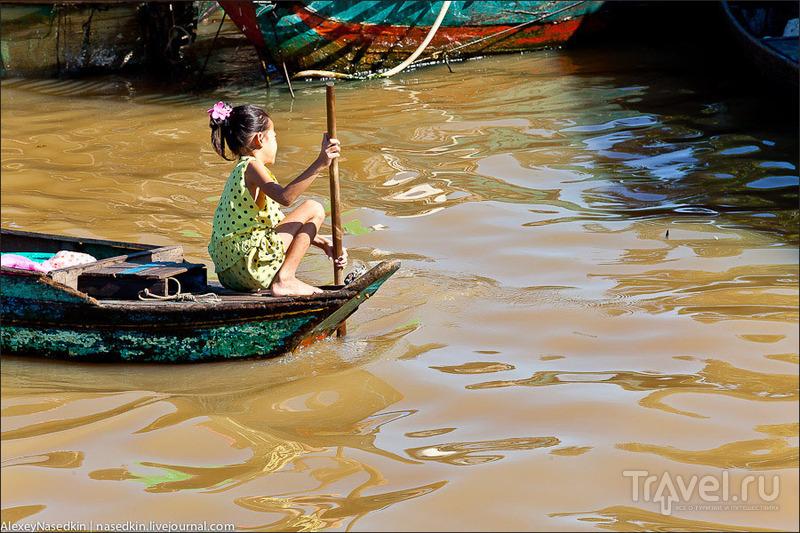 Жизнь на озере Тонлесап в Камбодже / Фото из Камбоджи