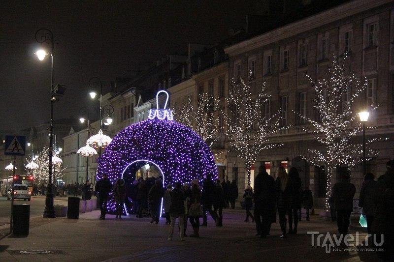 Рождественская ярмарка в Варшаве / Польша
