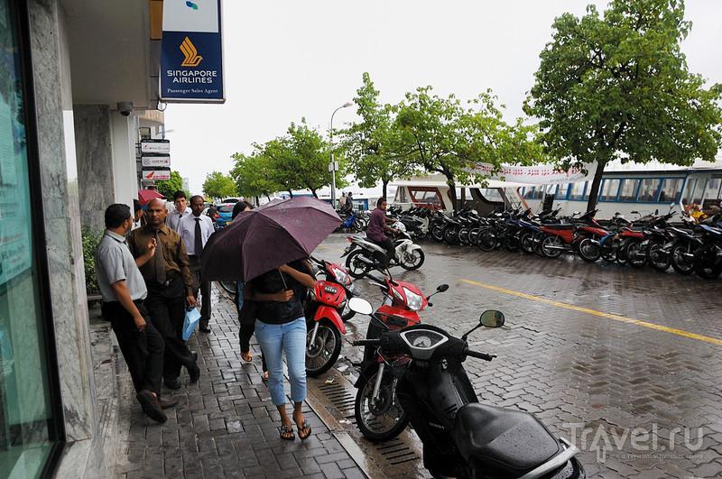 В городе Мале, Мальдивы / Фото с Мальдив