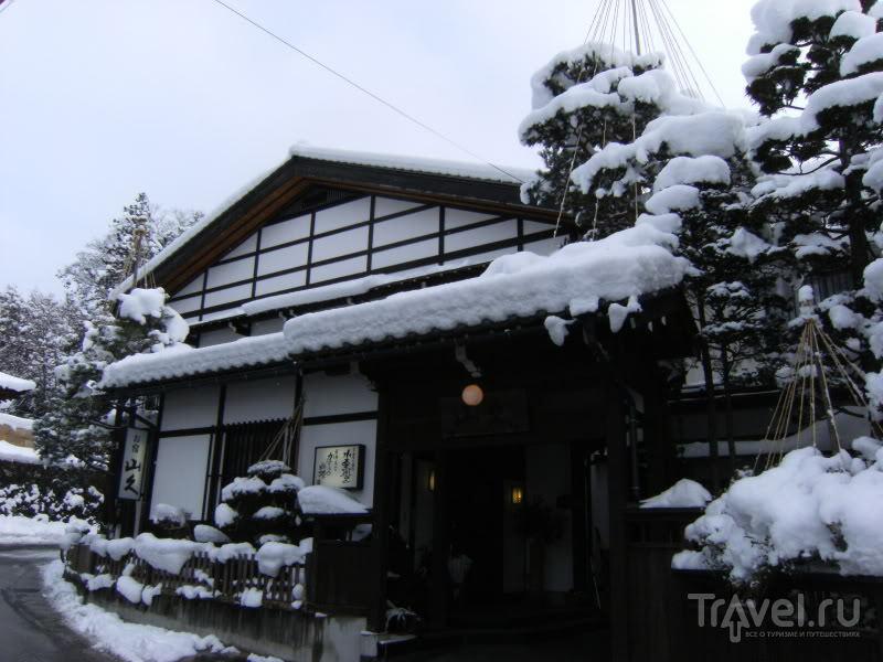 Снежная Япония: Такаяма / Япония