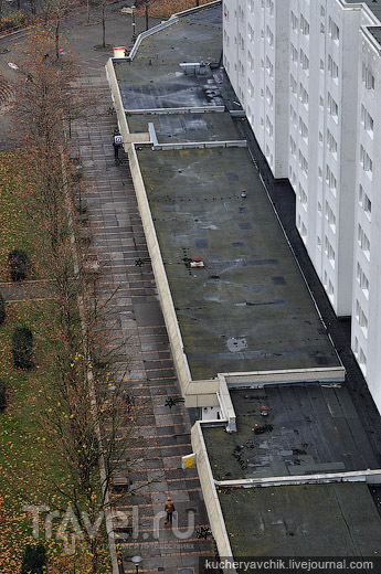 Спальный массив Марцан-Хеллерсдорф в Восточном Берлине / Германия