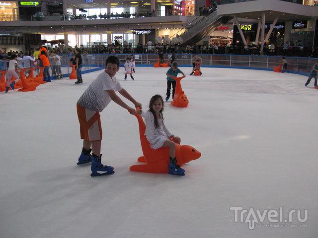 В Эйлат со своими коньками / Израиль