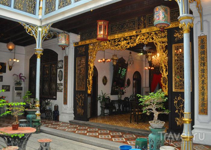 Внутренний дворик Pinang Peranakan / Фото из Малайзии