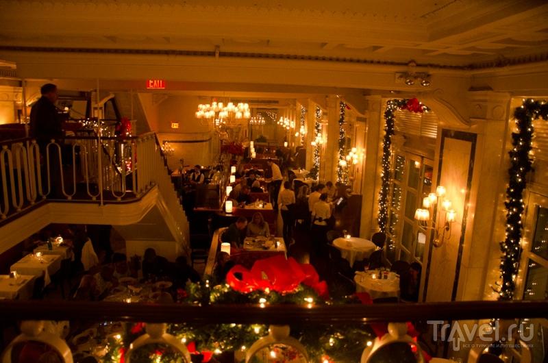 Нью-Йорк готовится к Рождеству / США