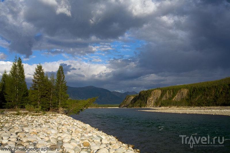 Якутская река Чибагалах / Россия