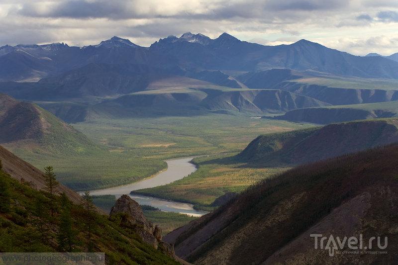Индигирка и гора Сого-Хая / Фото из России