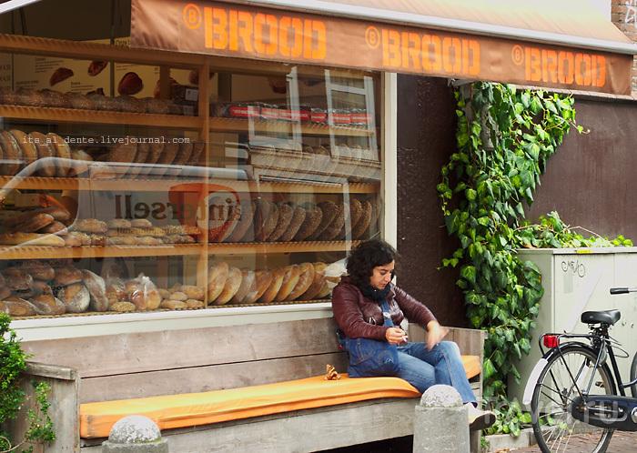 Сеть  булочных Brood в Амстердаме / Фото из Нидерландов