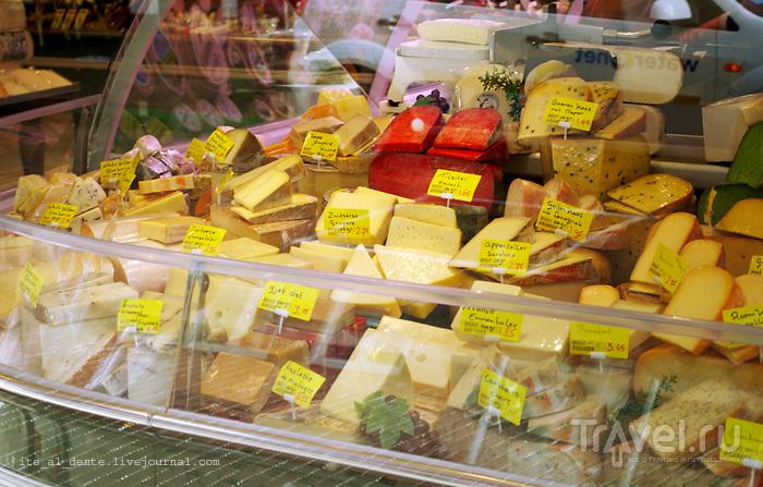 Голландский сыр / Фото из Нидерландов