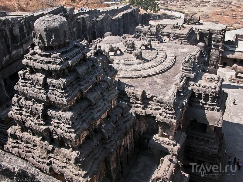 Храм Кайласанатха в Индии / Фото из Индии