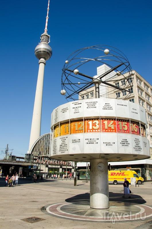 Weltzeituhr в Берлине / Фото из Германии