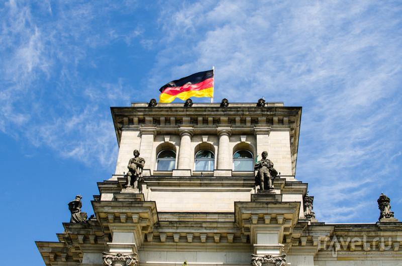 Бундестаг в Берлине / Фото из Германии
