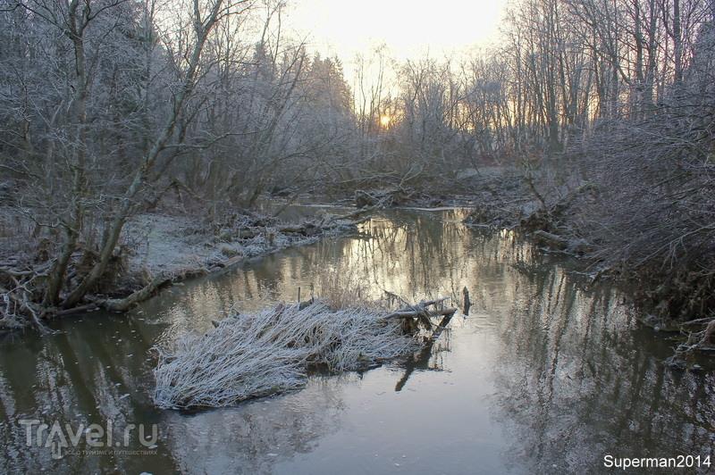 Река Воря в Абрамцево / Фото из России