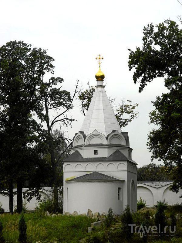 Церковь-часовня Страстей Господних в Угрешском монастыре в Дзержинском / Фото из России