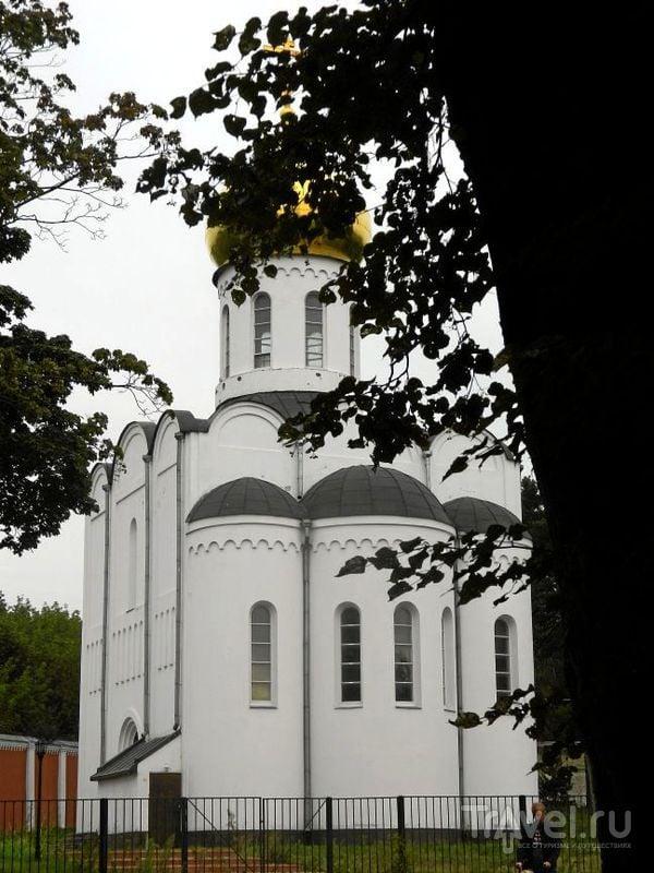 Церковь Пимена Угрешского в Угрешском монастыре в Дзержинском / Фото из России