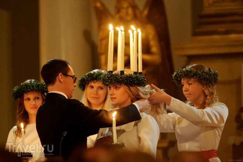 Cвятая Люция в Хельсинки (13 декабря) / Фото из Финляндии