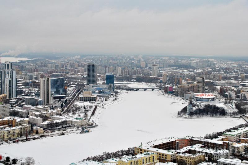 Река Исеть в Екатеринбурге / Фото из России