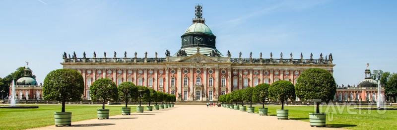 Дворец Sanssouci в Потсдаме / Фото из Германии