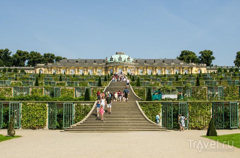 Sanssouci в Потсдаме / Фото из Германии