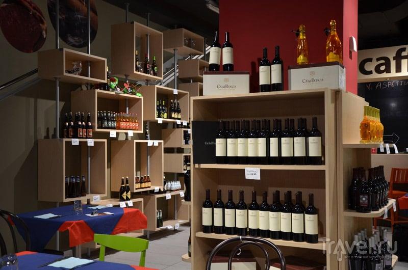 В магазине Buonissimo  / Фото из Италии