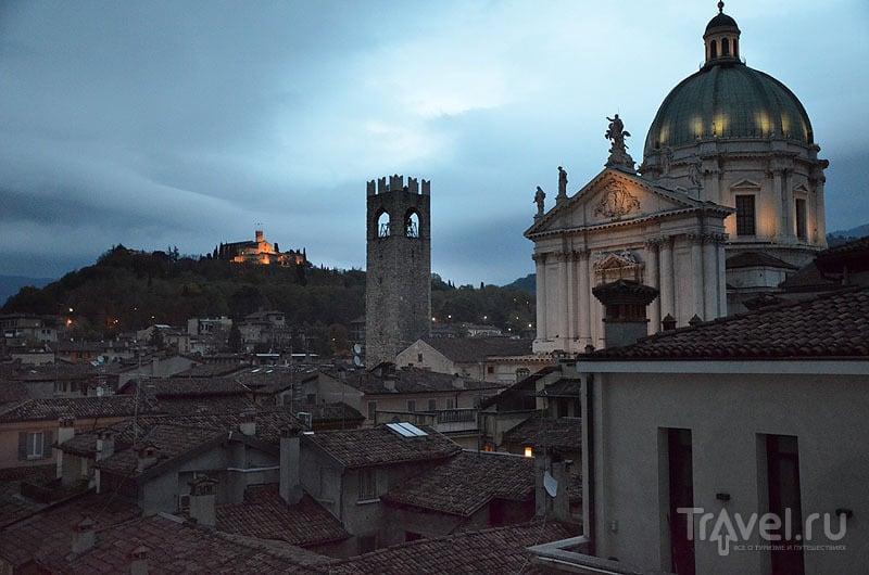 Брешиа вечером / Фото из Италии