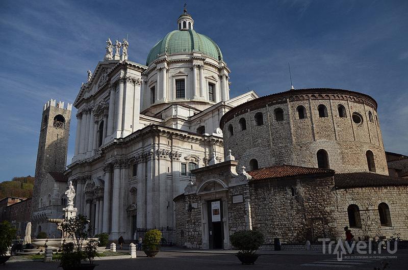 Старый и новый Домские соборы в Брешии / Фото из Италии