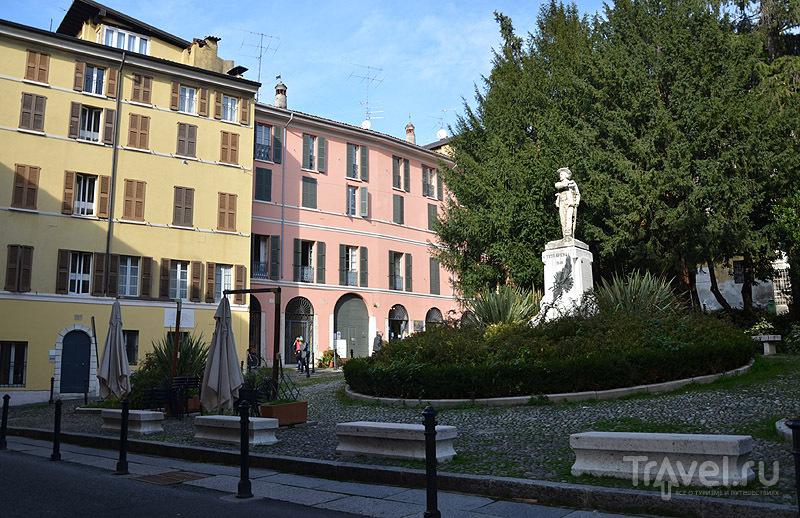 Памятник герою Брешии / Фото из Италии