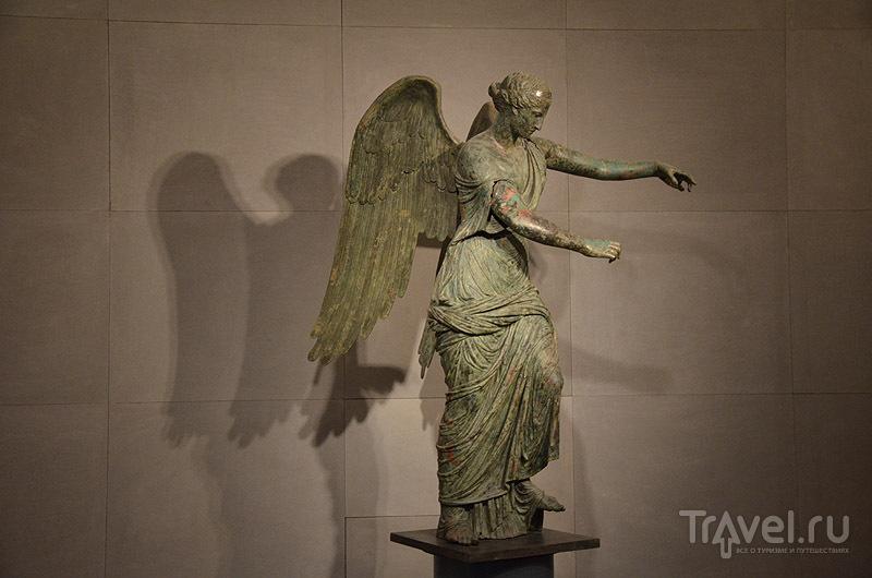 Ника - гордость музея Санта-Джулия / Фото из Италии