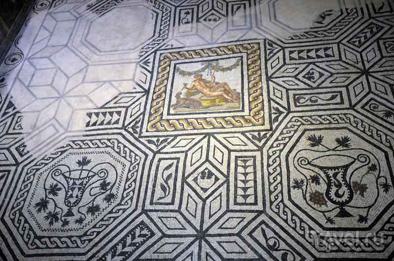Фрагмент мозаики / Фото из Италии