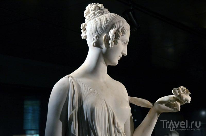 Скульптура в музее Санта-Джулия / Фото из Италии