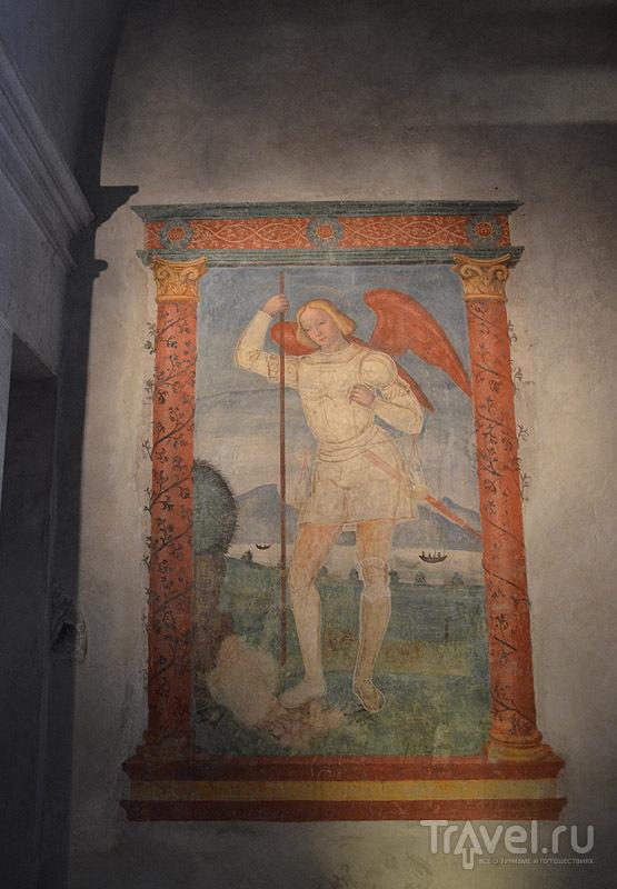 Фреска в бывшем монастыре / Фото из Италии