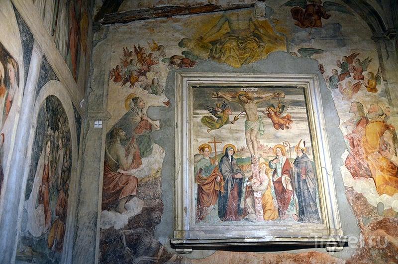 Роспись монастырских стен / Фото из Италии