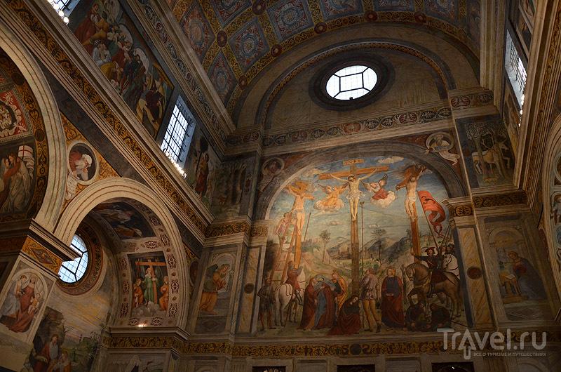 В монастыре Сан-Сальваторе и Санта-Джулии / Фото из Италии