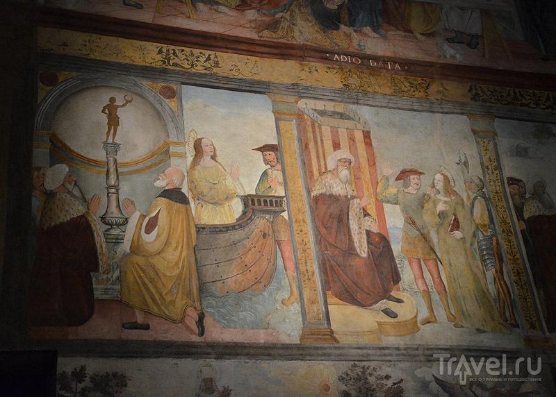 Монастырские фрески / Фото из Италии