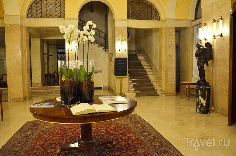 Просторный отель Vittoria / Фото из Италии