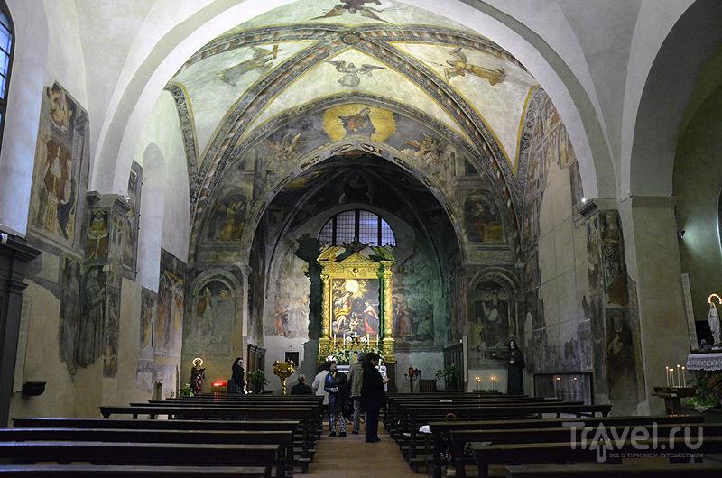 Церковь Santa Maria Annunciata в Бьенно / Фото из Италии