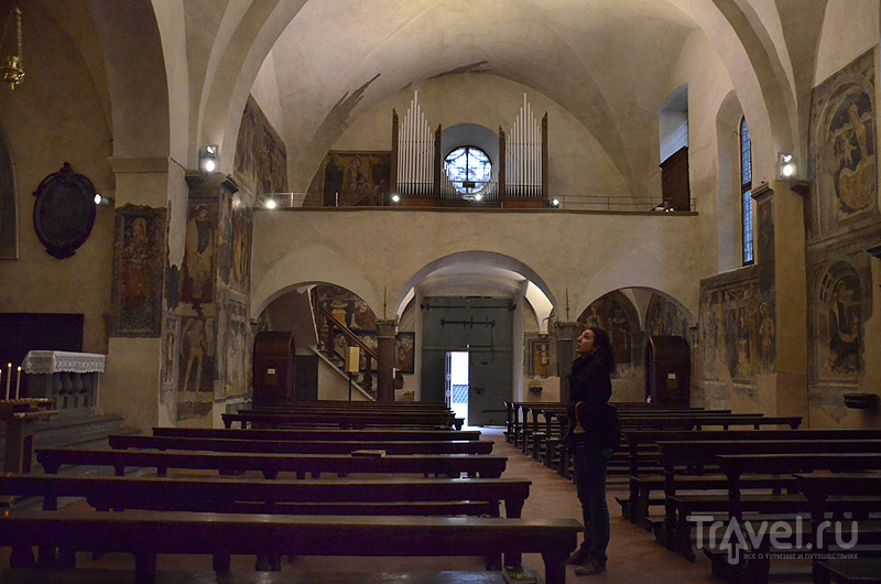 Орган в церкви / Фото из Италии