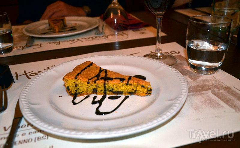 Торт из кукурузной муки / Фото из Италии