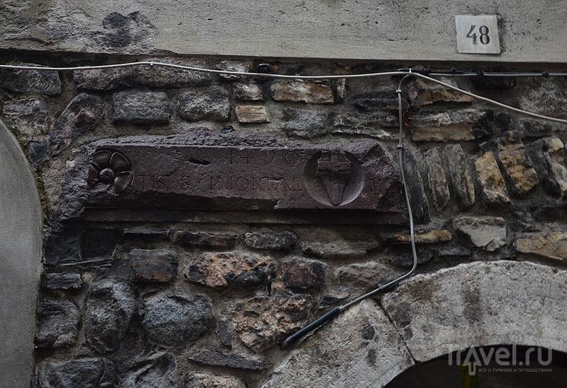 Кладка каменного дома / Фото из Италии