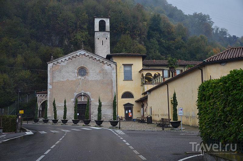 Церковь Санта-Мария-делла-Неве в Пизонье / Фото из Италии