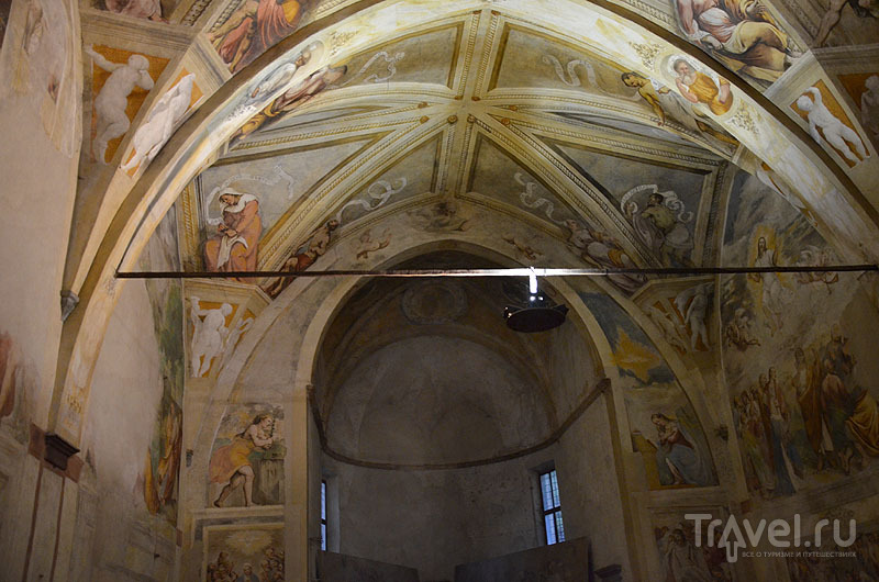 Фрески Романино / Фото из Италии