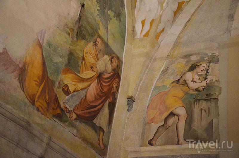 Фреска Романино / Фото из Италии