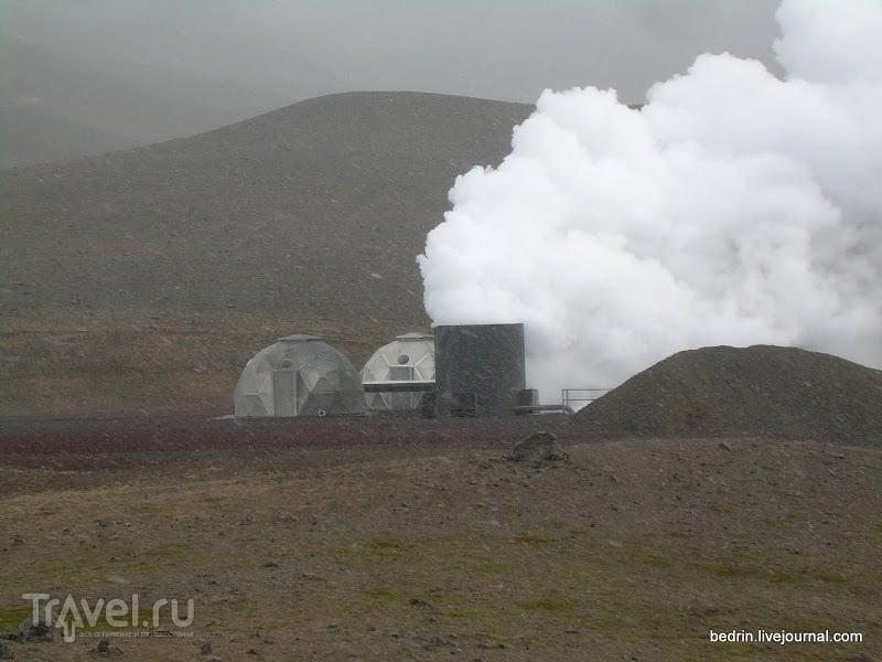Окрестности вулкана Крабла / Фото из Исландии