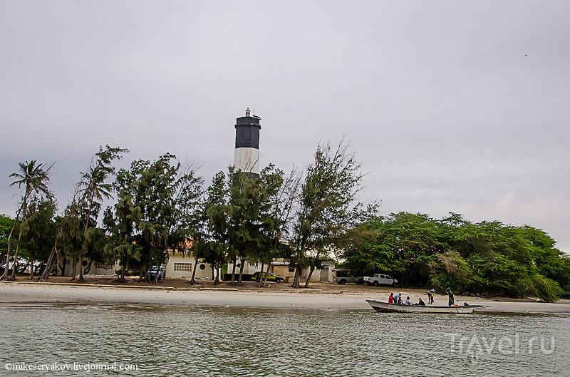 Гандиольский маяк в Сенегале / Фото из Сенегала